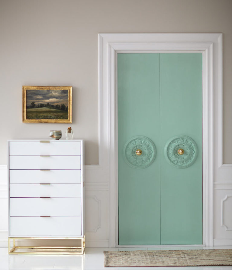 Upgrade plain closet doors