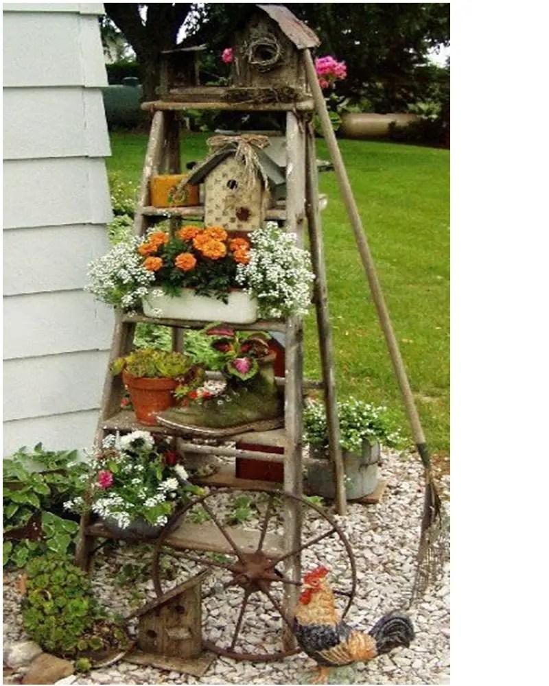 Vintage garden ideas 3