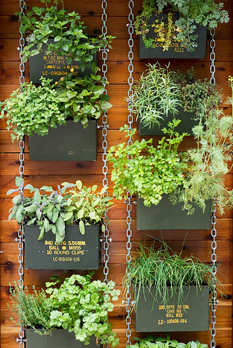 Ammunition-cans-vertical-garden-