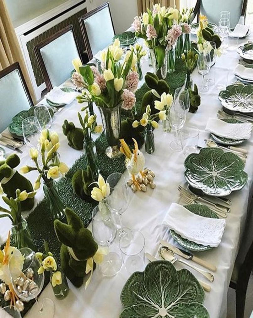 Spring table setting 6-1