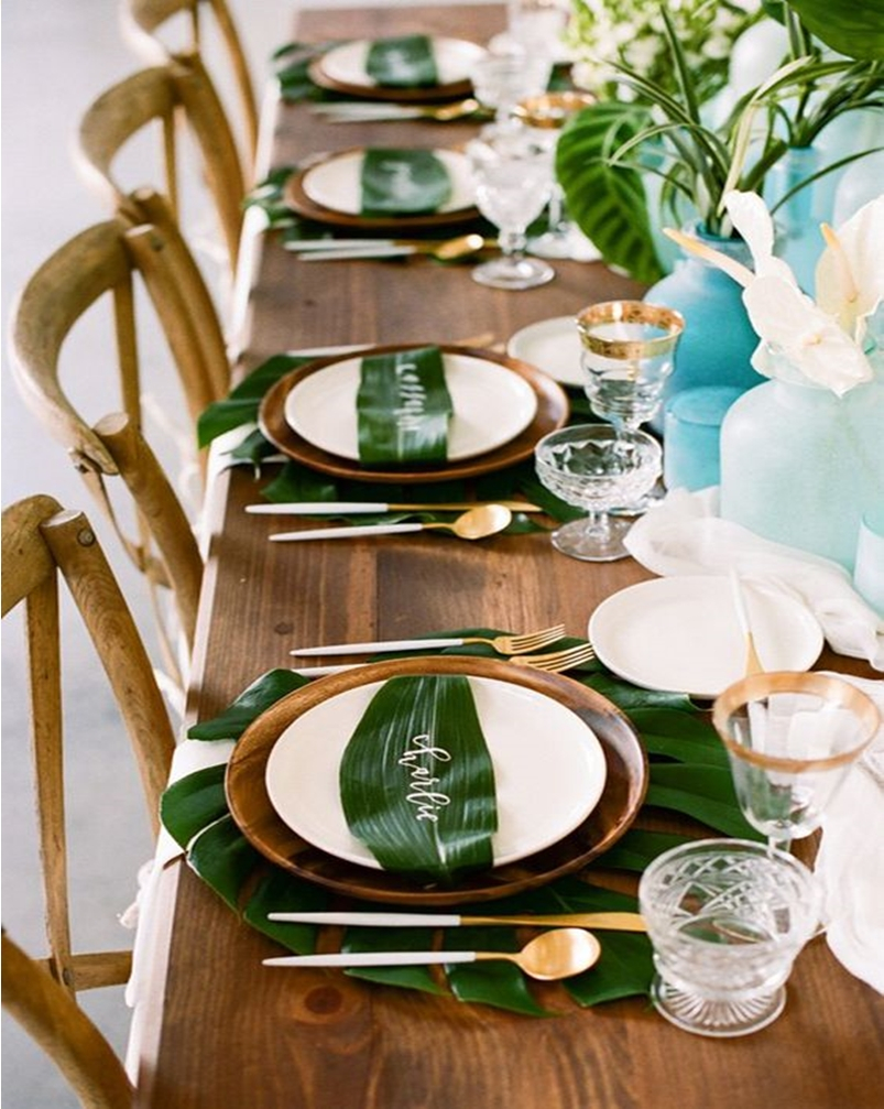Spring table setting 8