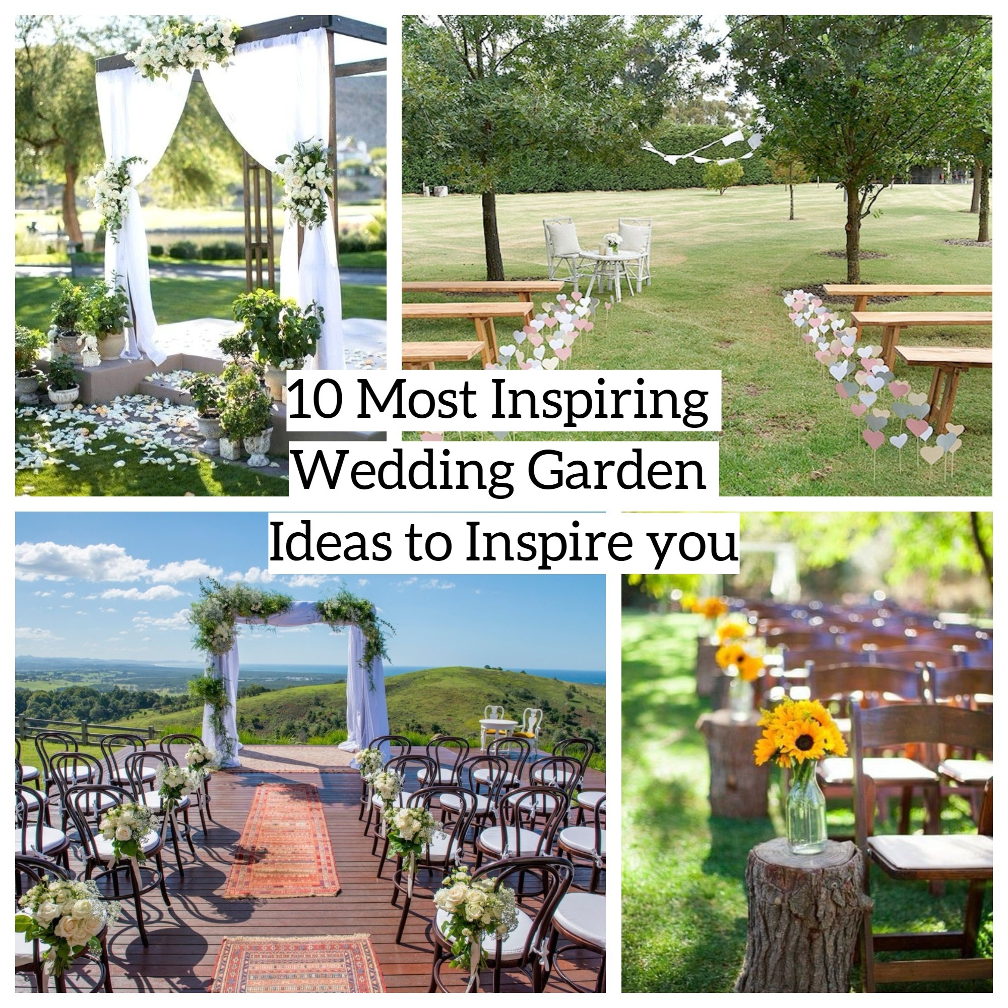 10 most inspiring wedding garden ideas to inspire you matchness surely its related to the venue whether for ceremony or the reception talking about wedding day wedding garden is nice to workwithnaturefo