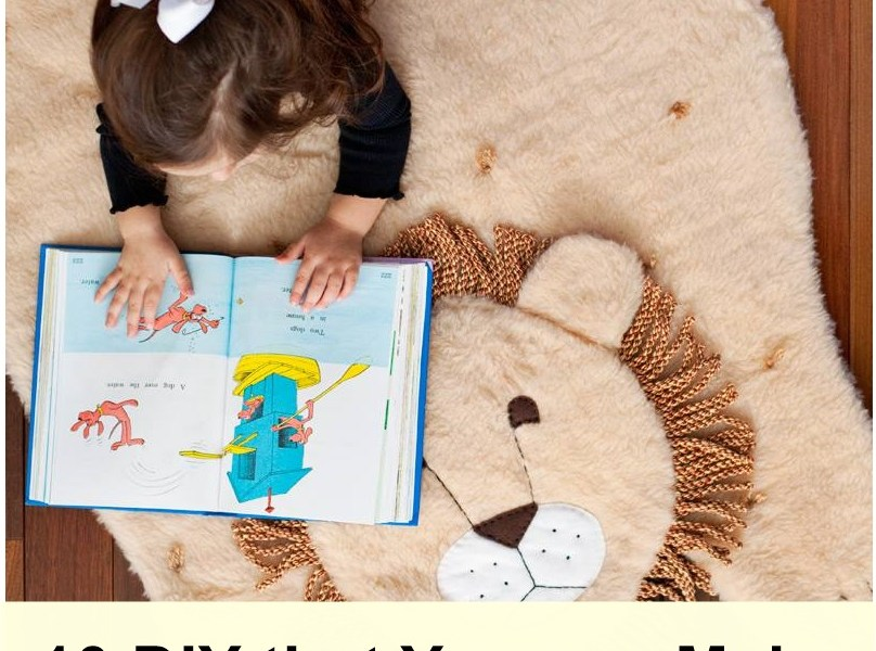 10 diy that you can make for your kid's bedroom