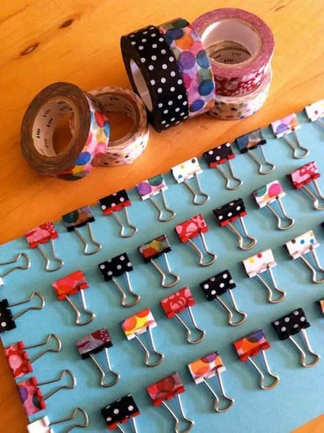 7. binder clips