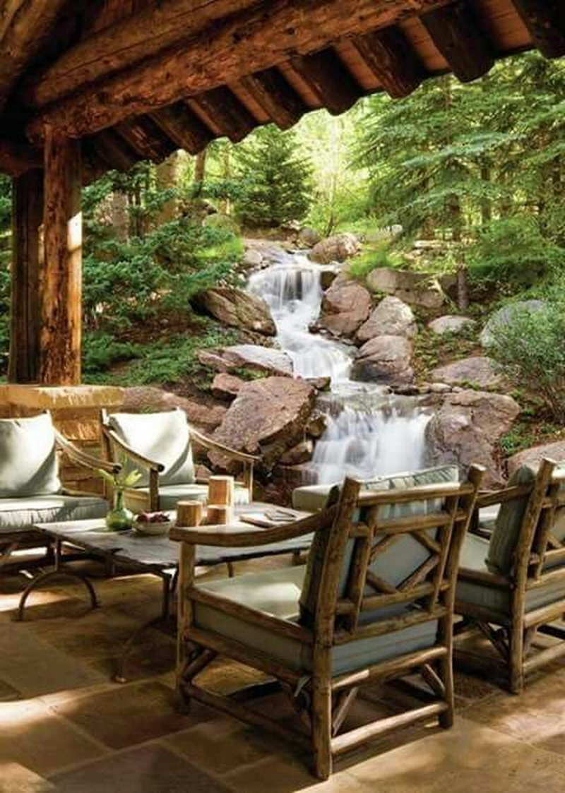 7. nature in backyard