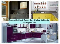 Admirable paint colors for kitchen cabinets to inspire you