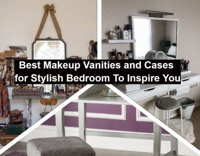Best makeup vanities and cases for stylish bedroom to inspire you