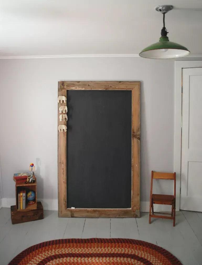 Diy giant chalkboard