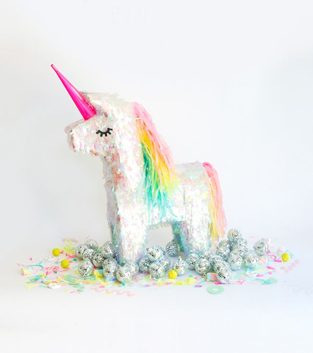 Diy unicorn pinata makecover