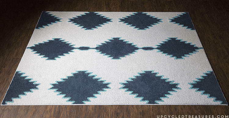 Diy west elm inspired rug