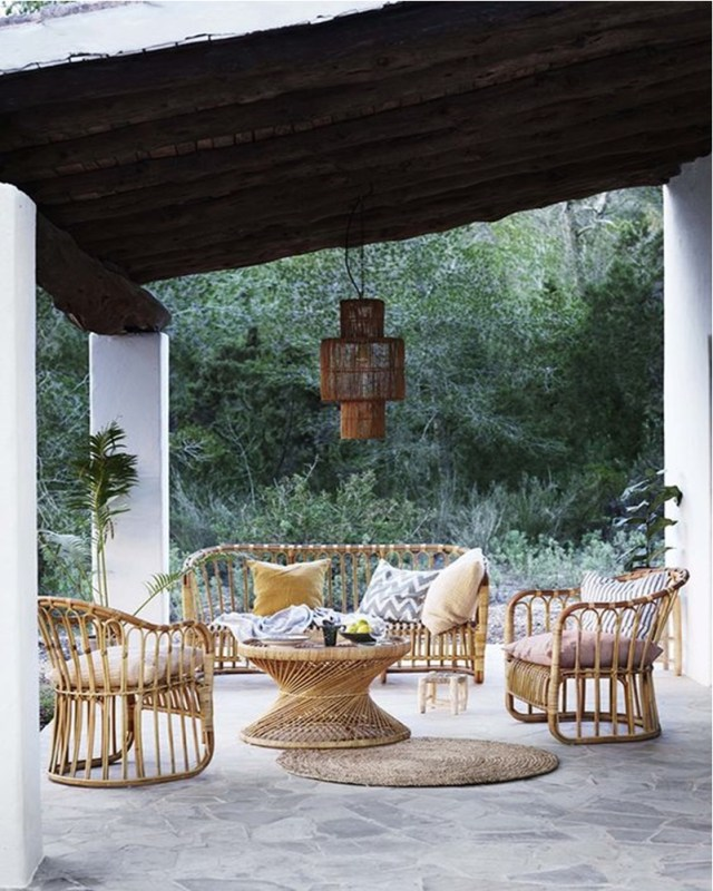 Rattan decoration ideas 7