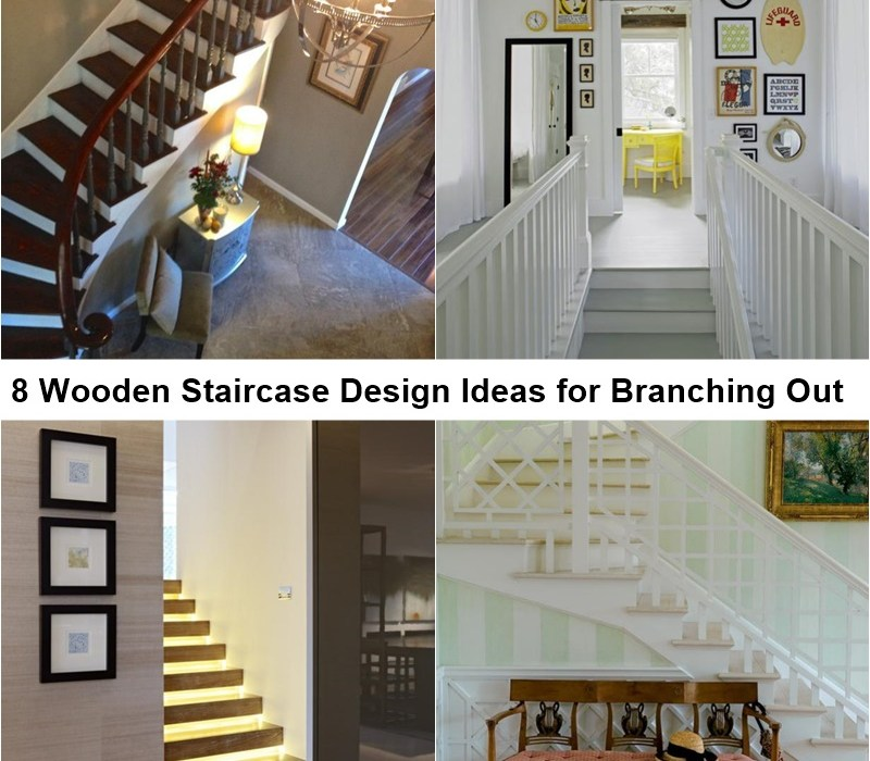 8 wooden staircase design ideas for branching out