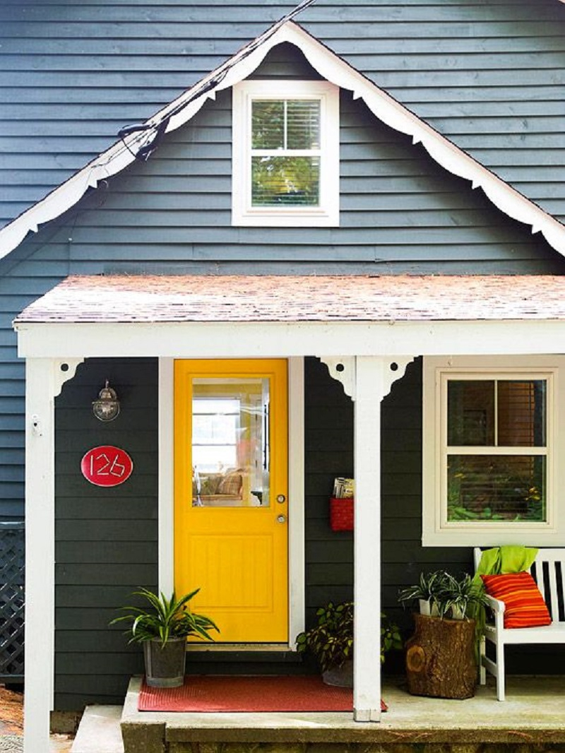 Right color for front door