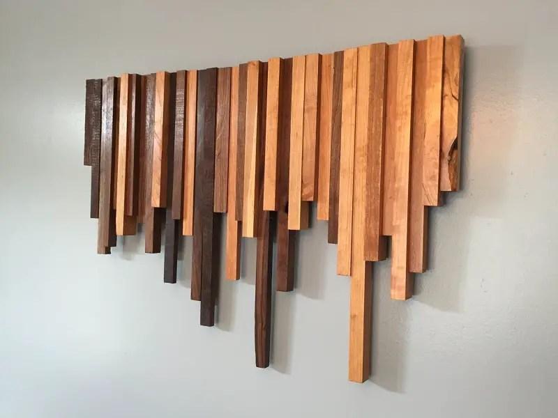 Simple wood-wall-art-decor