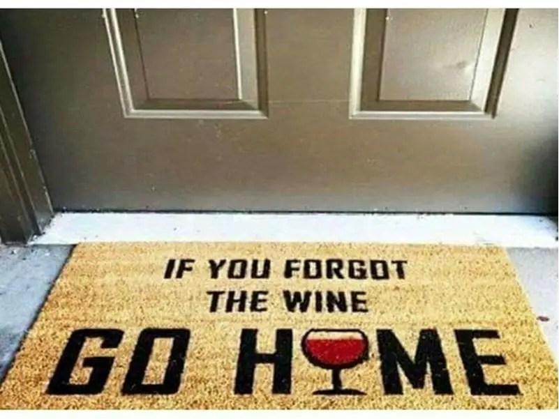 Funny doormat 2