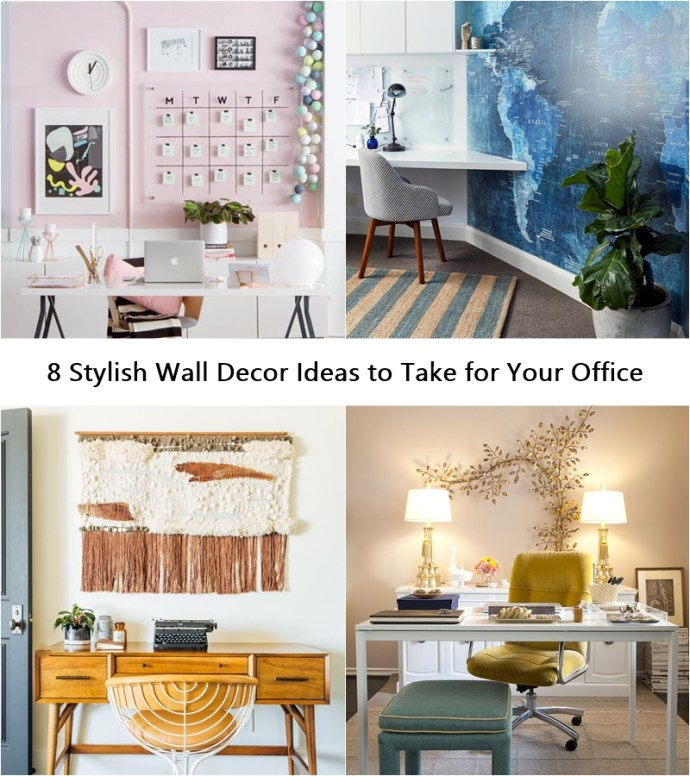 8 stylish wall decor ideas to take for your office