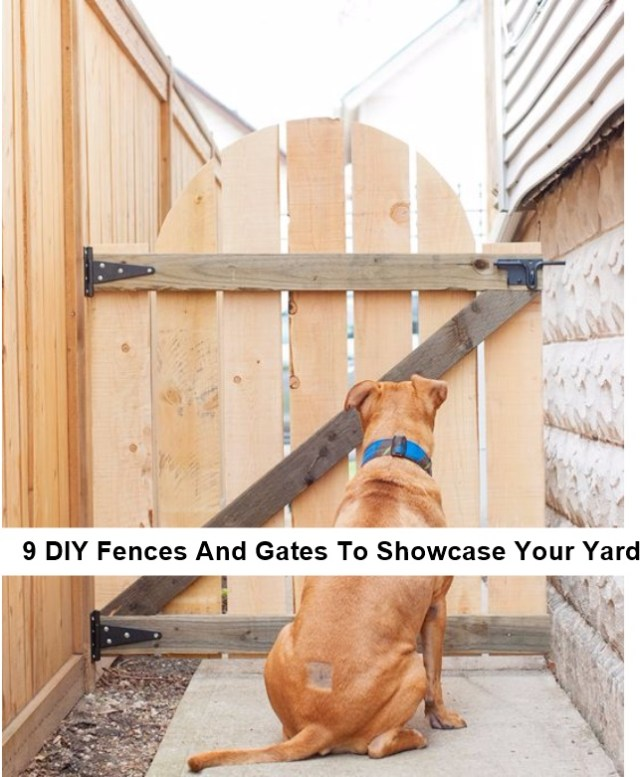 Diy outdoor gate