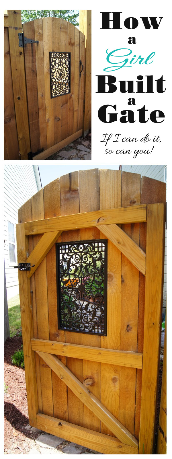 Easy diy gate