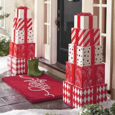 Adorable christmas porch décoration ideas 08