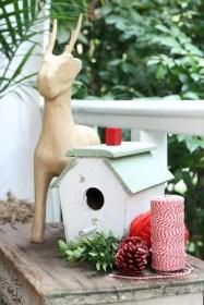 Adorable christmas porch décoration ideas 12