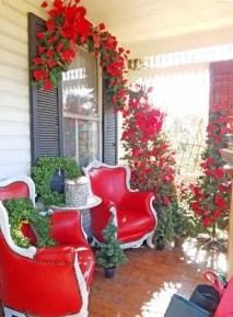 Adorable christmas porch décoration ideas 20
