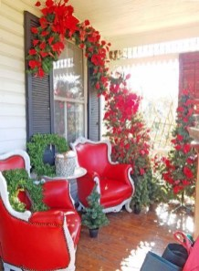 Adorable christmas porch décoration ideas 20