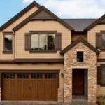 Exterior paint colors for house with brown roof 32