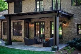 Exterior paint colors for house with brown roof 38