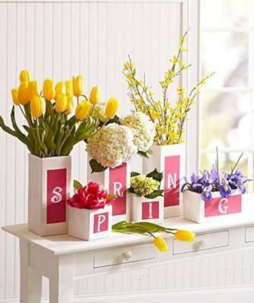 Awesome decor ideas to transition your home for springtime 18