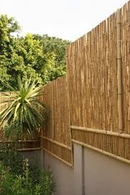 Bamboo fence ideas for small houses 01