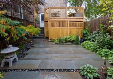 Bamboo fence ideas for small houses 31