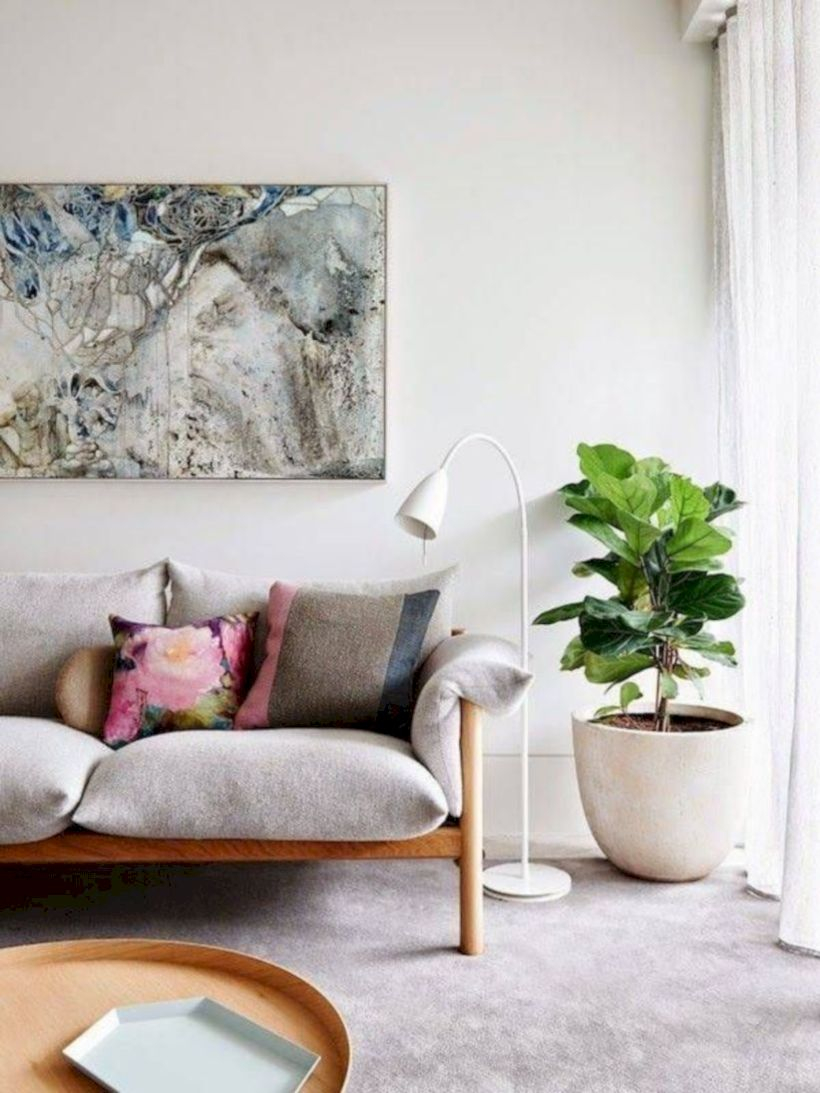 Beautiful modern style to upgrade your living room 48
