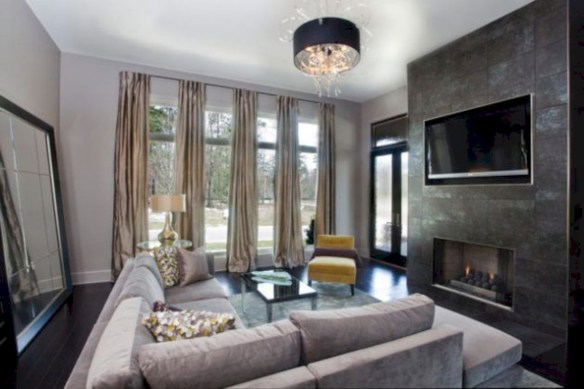 Beautiful modern style to upgrade your living room 51