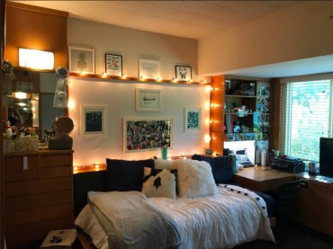 Creative dorm decoration ideas for your bedroom 51