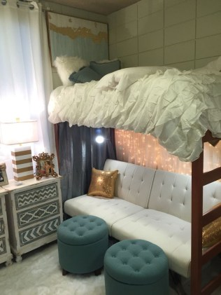 Creative dorm decoration ideas for your bedroom 53