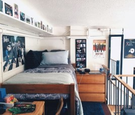 Creative dorm decoration ideas for your bedroom 54