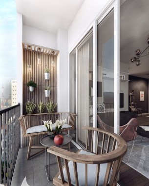 Creative small balcony design ideas for spring 07