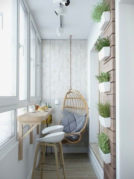Creative small balcony design ideas for spring 23