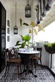 Creative small balcony design ideas for spring 36