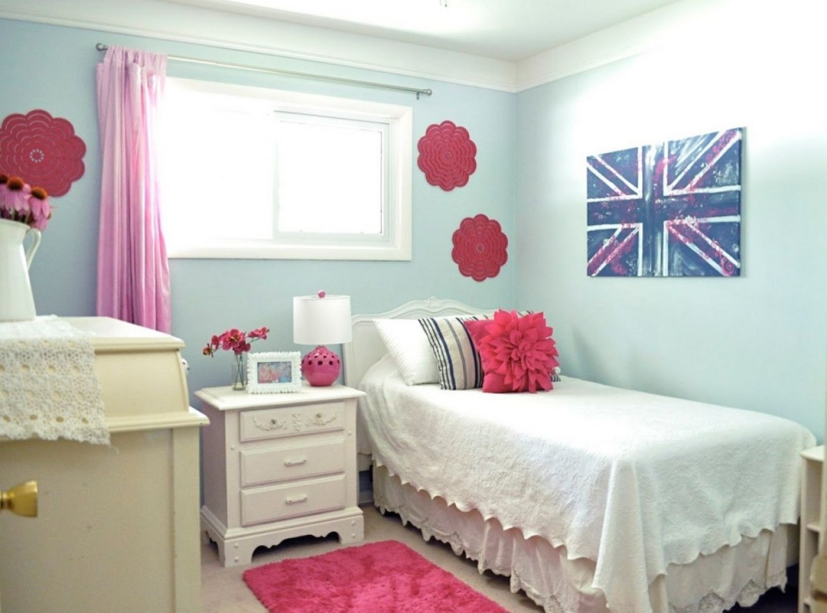 Cute girls bedroom ideas for small rooms 15