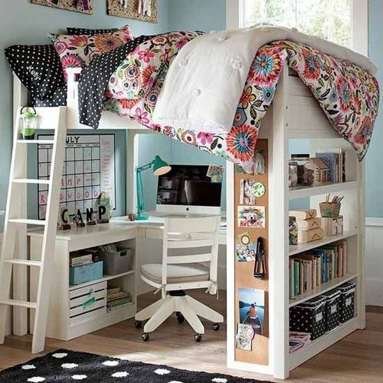 Cute girls bedroom ideas for small rooms 51