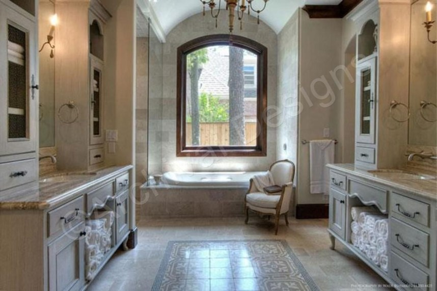 Luxury traditional bathroom design ideas for your classy room 12