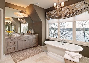 53 Luxury Traditional Bathroom Design Ideas for Your Classy Room