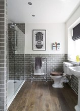 Rustic farmhouse bathroom ideas with shower 02