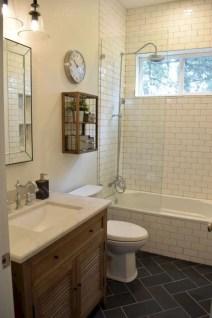 Rustic farmhouse bathroom ideas with shower 05