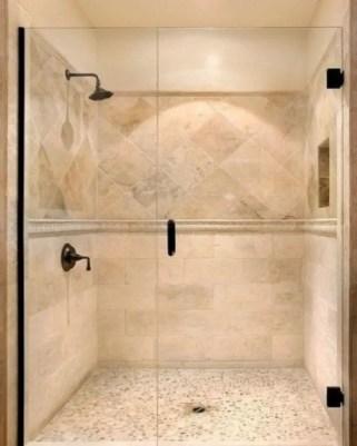 Rustic farmhouse bathroom ideas with shower 09