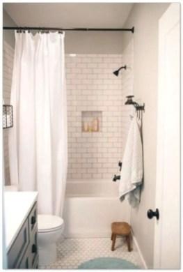 Rustic farmhouse bathroom ideas with shower 116
