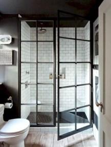 Rustic farmhouse bathroom ideas with shower 31