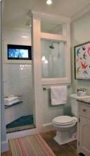 Rustic farmhouse bathroom ideas with shower 38