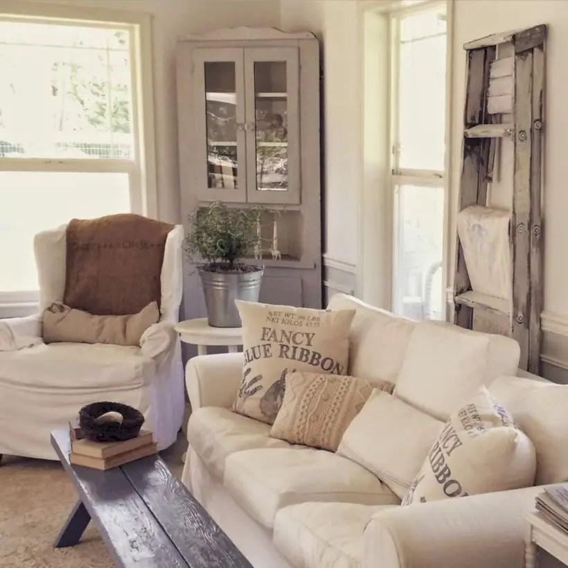Rustic modern farmhouse living room decor ideas 70